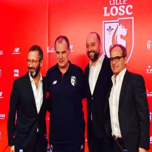 Marcelo Bielsa unveiled as new Lille manager