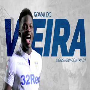 Leeds United's young player of the year Ronaldo Vieira signs a new 4 year contract!