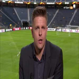 """""""Multi-cultural, magical Manchester."""" Jake Humphrey's tribute to Manchester was poignant and moving."""