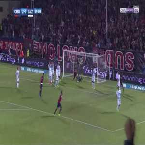Andrea Nalini (Crotone) goal against Lazio (3-1)