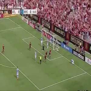 Atlanta United 1-0 NYCFC - Miguel Almirón 16'