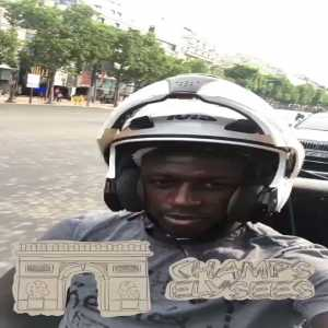 Benjamin Mendy responds to rumours that he has flown to Manchester