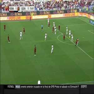 D. De Rossi goal vs Genoa (2-1)