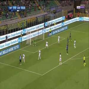 Eder (Inter) goal against Udinese (4-0)
