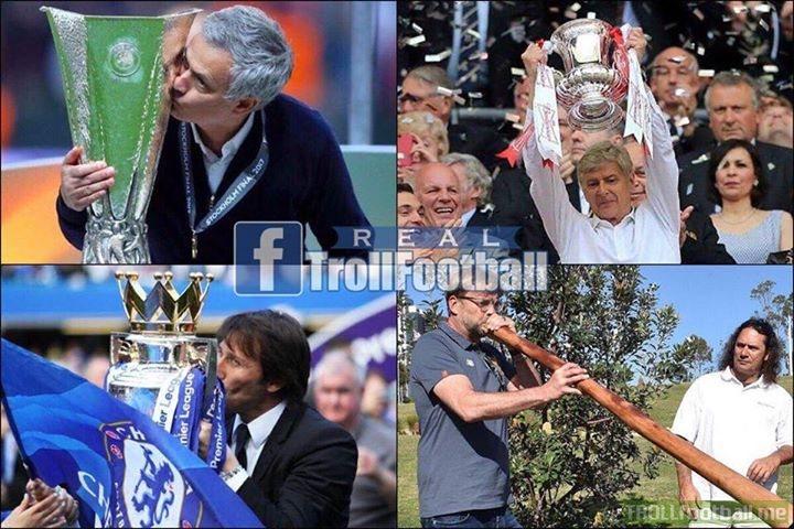 ✅ Man Utd - Europa League 🏆 ✅ Chelsea - Premier League 🏆 ✅ Arsenal - FA Cup 🏆 ✅ Liverpool - finished above United