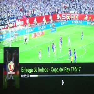 Jordi Alba pathetic play-acting vs Alaves