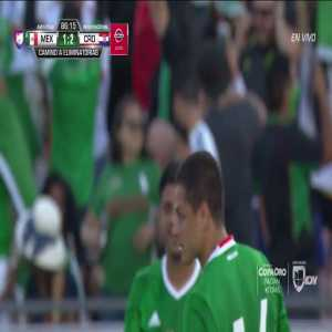 Mexico 1-2 Croatia (Chicharito 86') - Javier Hernandez sets Mexico's all-time goal record! 47 goals.