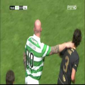 Nice Petrov goal in Celtic charity match
