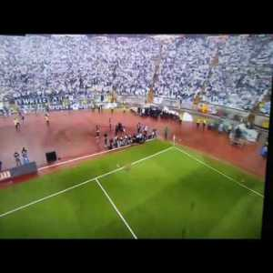 Portuguese Cup Final - Ball delivered by guy flying in a drone (What a time to be alive!)