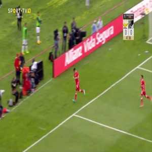 Raul Jimenez (Benfica) goal against Vitória de Guimarães (1-0)