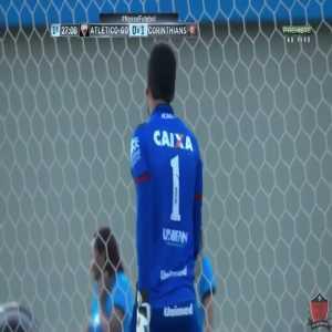 Rodriguinho (Corinthians) goal vs. Atlético-GO (0-1)