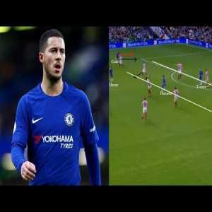 Why Eden Hazard is so Important for Chelsea? Analysis