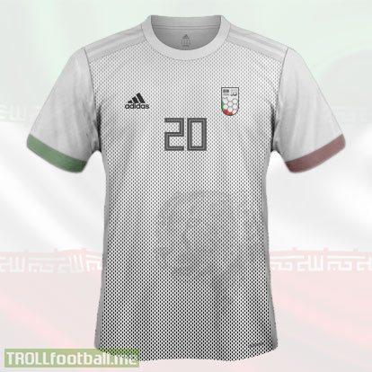 IRAN 1st Kit World Cup 2018 Concept Kit