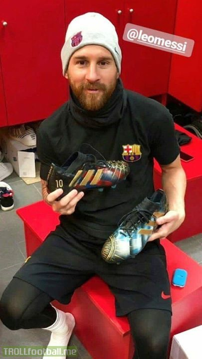 Lionel Messi's new boots. Yay or nay?
