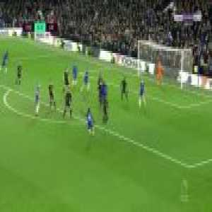 Moses shot at the end of the game vs Leicester best sums up current Chelsea attacking form