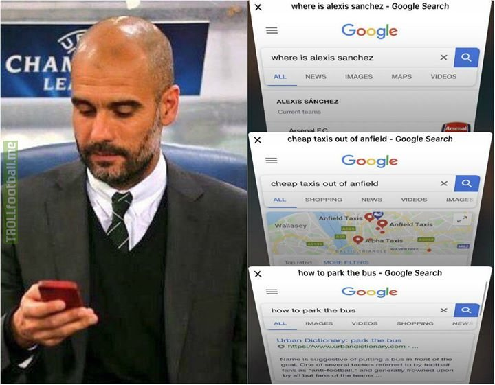 Pep Guardiola right now 😂😂