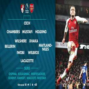 Alexis not in line-up to face Bournemouth