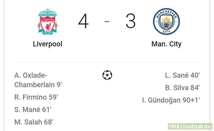 Best Match in EPL so far 😍