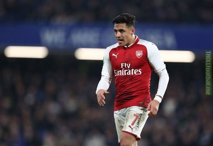 BREAKING: Man United have offered Arsenal £35m plus Marouane Fellaini for Alexis Sanchez. Arsenal respond saying they'd rather just have the cash.