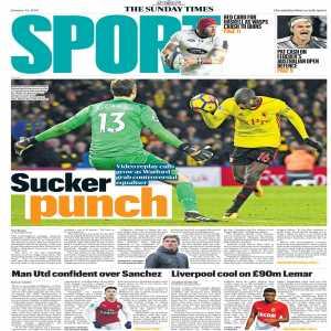 "Duncan Castles via The Sunday Times: ""Manchester United confident they'll get Sanchez"""