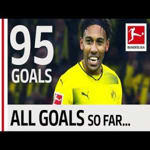 Pierre-Emerick Aubameyang - All Bundesliga Goals