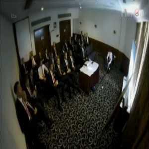 Ryan Giggs' final team meeting as Man United caretaker manager