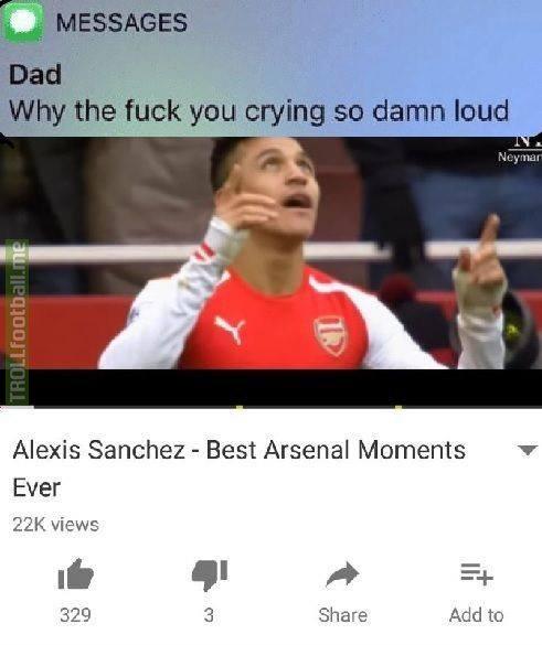 Arsenal fans rn