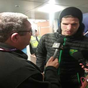 Norwich's Timm Klose told me after the game tonight his challenge on Willian that wasnt given as a penalty, was a penalty in his opinion