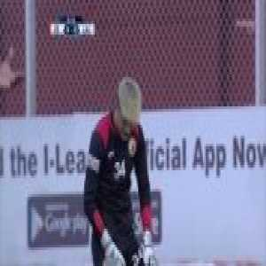 Churchill Brothers [1]-0 Shillong Lajong: Monday Osagie (8') - Goal scored from Halfway line and it's not as impressive as it sounds