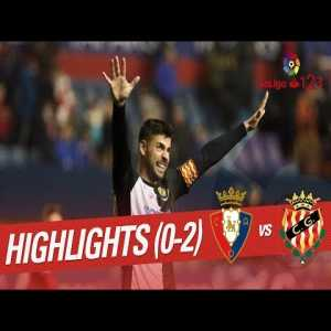 Osasuna vs Nastic Highlights - Both goals due to keeper being outplayed out of net