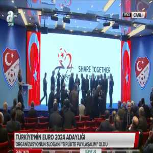 UEFA EURO 2024 - Turkey the second candidate after Germany. Today was launched the logo and the slogan