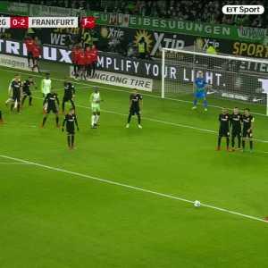 Max Arnold ridiculous free kick vs Frankfurt