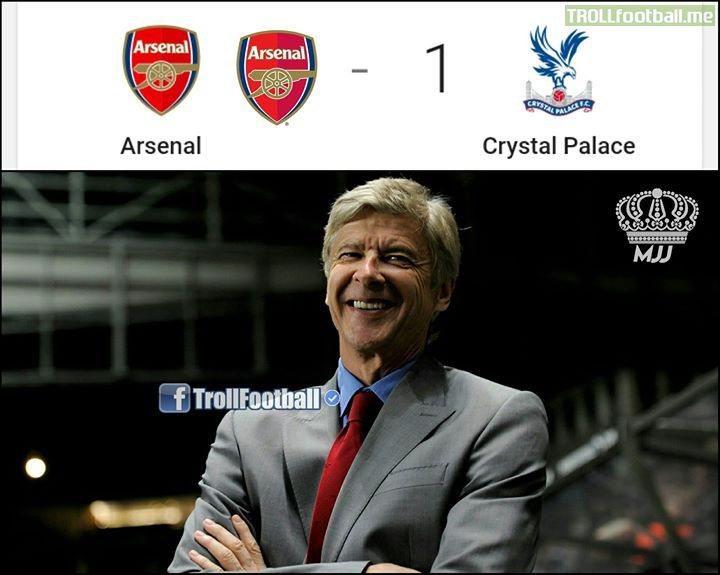 Wenger Is Happy😂 MJJ