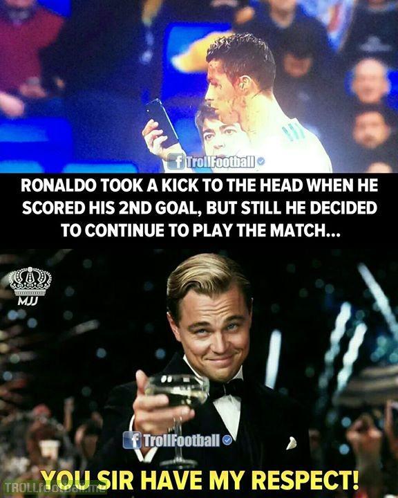 Cristiano Ronaldo..👏👏 Respect MJJ