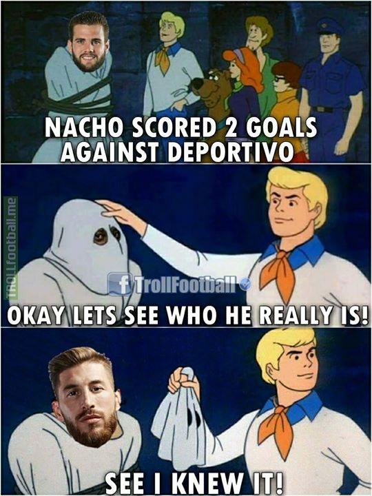It was Ramos not Nacho xD