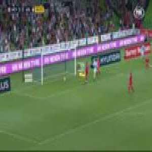 Melbourne City [3]-0 Adelaide United - Dario Vidosic 89' (stunning goal)