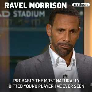 Rio Ferdinand talks about Ravel Morrison, Fulfilling talent, racism in football and Tammy Abraham- the man that Chelsea should target and recall in this one minute recap.