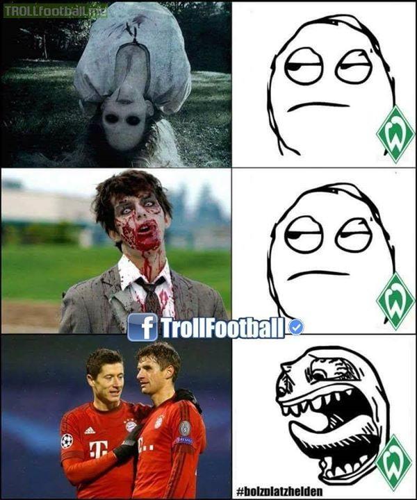 Werder Fans Be Like..😂