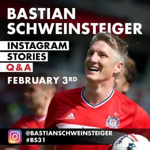 Bastian Schweinsteiger is doing an AMA on twitter