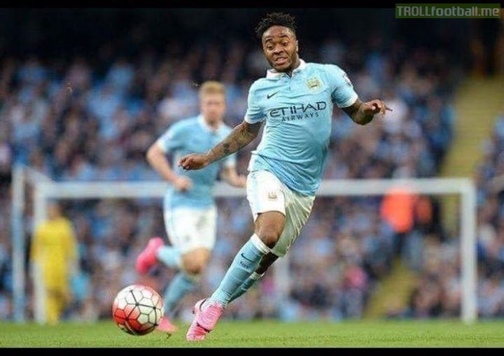 "Raheem Sterling: ""It's true - I run exactly like my mum."" 😂😂"