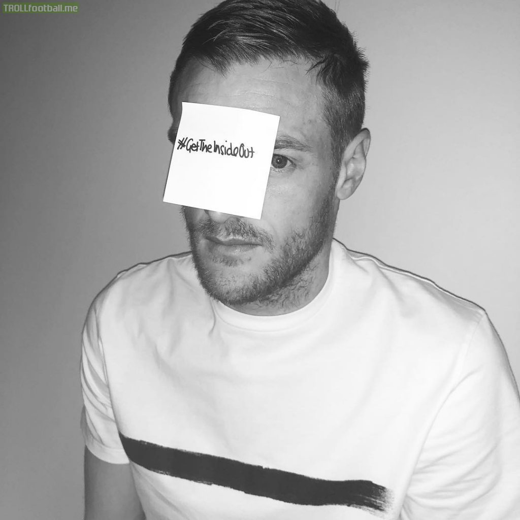 Jamie Vardy posts in support of mental health #GetTheInsideOut
