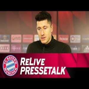 "Lewandowski: ""For the last 3 years I've competed with Auba to be Torjägerkanone. Now that he's gone, maybe the part of my motivation that came from our duel will also go. When you have that kind of rivalry you're more motivated. Now I fight against myself, my objective is to score at least 30 goals"""