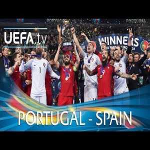 Portugal - Spain Futsal EURO 2018 final highlights