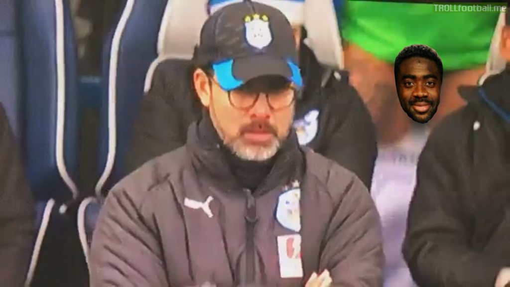 a player showed his penis behind David Wagner, the coach of Huddersfield SFW