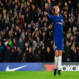 Eden Hazard has had a hand in 104 goals in the Premier League for Chelsea (67 goals, 37 assists) – only Didier Drogba (159) and Frank Lampard (237) have been involved in more for the club