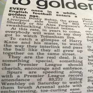 Some amazing insight from Neil Ashton about Spurs...