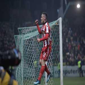 Gabriel Torje scored Liga1 (Romania) 400th goal of the current season