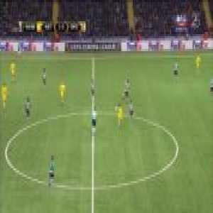 FC Astana 1-[3] Sporting - Doumbia 56' (Europa League - 1/16-finals)