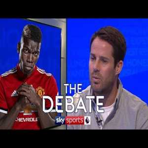"Jamie Rednapp: ""Pogba's confidence is low and it's Mourinho's responsibility. I wouldn't see a situation where Pep Guardiola would do that to him. I think if he was to play at Man City, he would be one of their star performers"" [The Debate - Sky Sports]"
