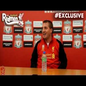 A Nov 2012 tactical discussion with Brendan Rodgers about Liverpool's goal-scoring woes(61 goals in last 18 months led by a misfiring Suarez). A few weeks later, Rodgers would sign Sturridge and Coutinho and kickstart a return to attacking football that saw 158 goals scored in the next 18 months.